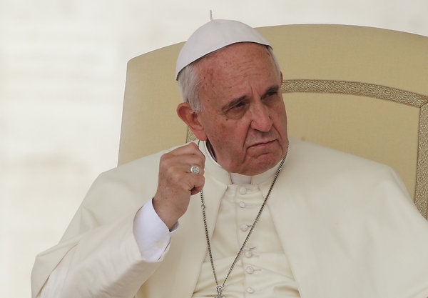 Pope Francis Wednesday General Audience - June 25 2014