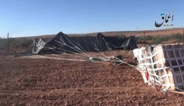 ISIS Executed Witness of Unidentified Airdrop