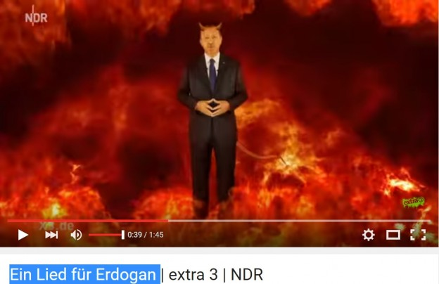 Erdogan devil